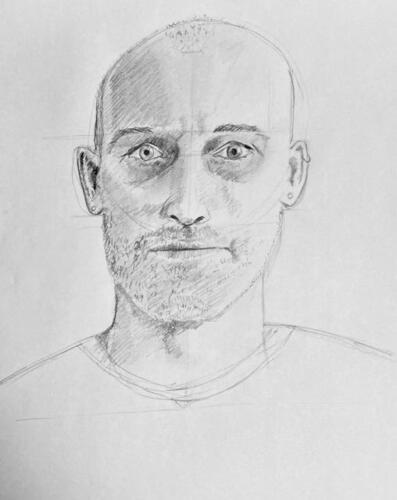 Self portrait 1